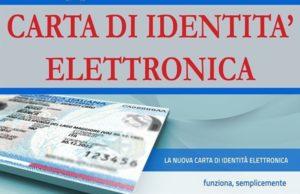 Avviso all′utenza – Carta Identità Elettronica