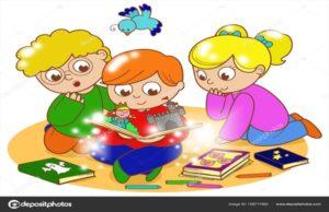Programmazione eventi per bambini in biblioteca