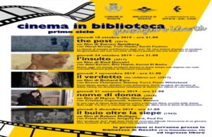 Cinema in biblioteca