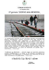 """27 gennaio """"GIORNO della MEMORIA"""""""