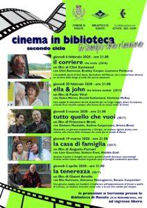 """Cinema in Biblioteca – secondo ciclo – """"Il Tempo che Rimane"""""""