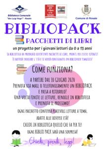 Bibliopack – un progetto per giovani lettori da 0 a 13 anni