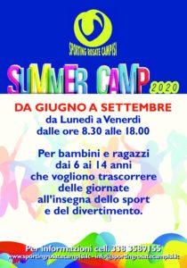 Summer Camp 2020 – Sporting Rosate Campisi