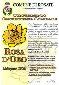 Rosa d'Oro – edizione 2020