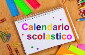Avviso – Calendario Scolastico 2020/2021