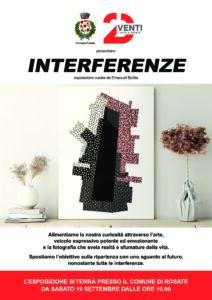 """"""" Interferenze"""" – esposizione di opere e fotografie"""