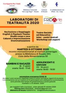 Laboratori di teatralità 2020