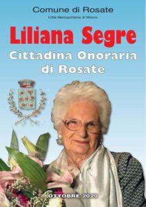 Liliana Segre – Cittadina Onoraria di Rosate