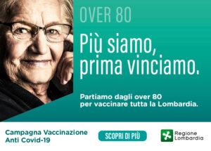 Campagna Vaccinazioni ANTI COVID-19 per i cittadini che hanno più di 80 anni