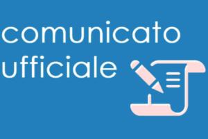 Comunicato alla cittadinanza