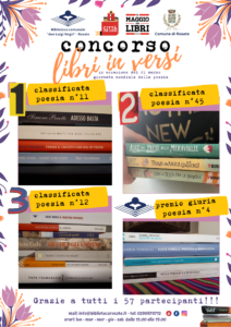 "Concorso ""Libri in Versi"" – Classifica vincitori"