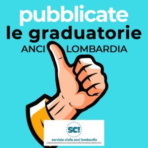 Pubblicazione graduatorie servizio civile universale con ANCI Lombardia
