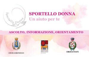 Sportello Donna – Comunicazione nuovi recapiti e organizzazione e attività del servizio.