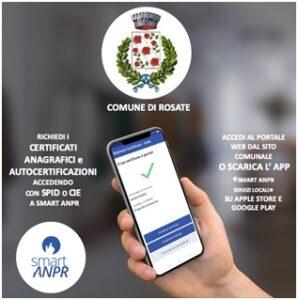 Nuovo servizio Smart ANPR: certificati anagrafici da app e portale web
