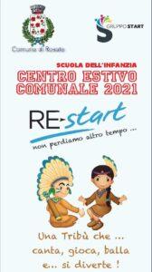 Centro Estivo Comunale 2021 Scuola dell'Infanzia