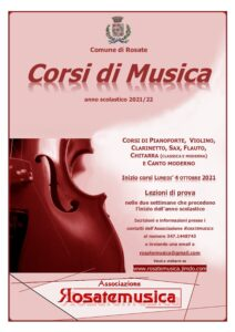 Corsi di Musica a.s. 2021/2022