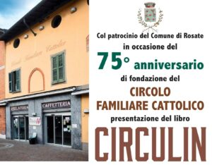Eventi culturali: Presentazione del libro CIRCULIN